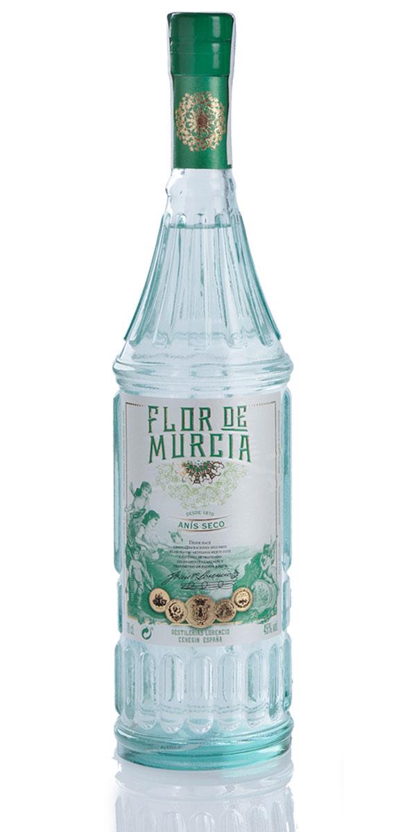 Botella de anís seco por Flor de Murcia