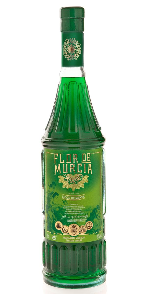 Flor de Murcia, licor de menta